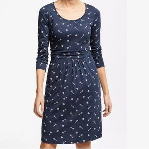 Boden Margot Lock & Key Print Dress
